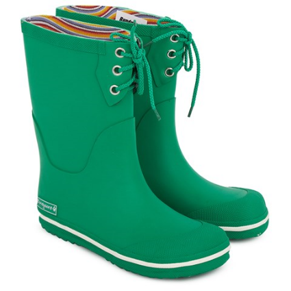 Bundgaard Green Rubber Welly Boot