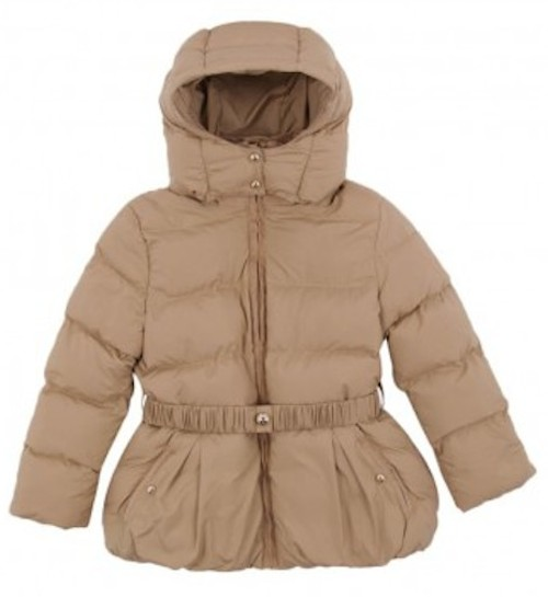 Baby It's Cold Outside… the Puffer This CHLOÉPuffer Jacket with removable hood for girlsis the ultra feminine Peplum Puffer that says I am a Snow Princess.