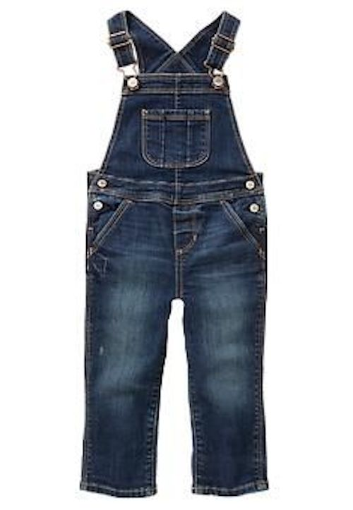 Farmer in the Dell… Overall Style These GAP KidsDenim Overallsare still a must have fashion trendthis Holiday season and will continue to be into Spring as well.