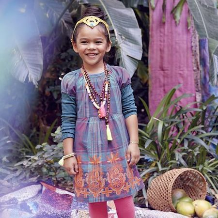 Stitch Society Mahamaya Dress |Striped Purity Tee