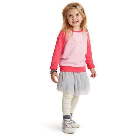 Uta Raglan Sweatshirt | Balletttänzer Tulle Skirt|Twinkle Stripe Leggings