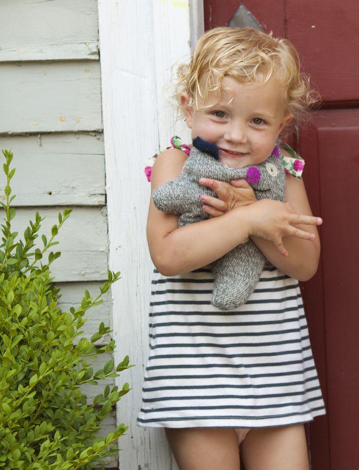 """100% Alpaca Knit Cat - """"Sweet Pea"""""""