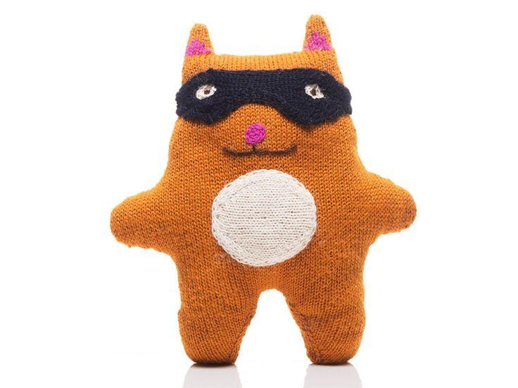 "100% Alpaca Knit Cat - ""Dash"""