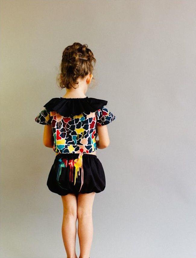 'raquel' short blouse & 'alexandra' culotte
