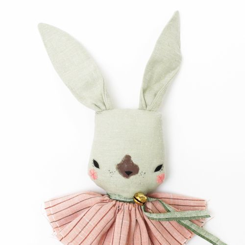 Only Tiny LULU RABBIT Fabric Doll
