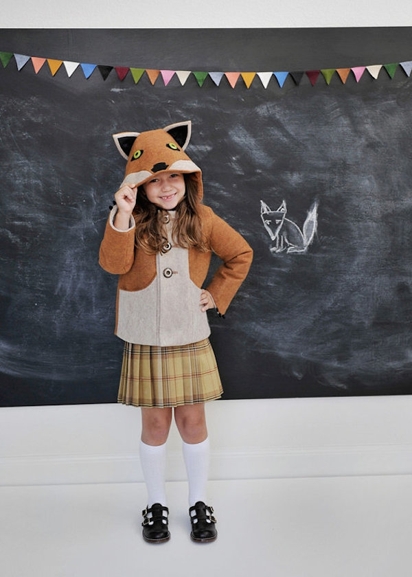 Fantastic Little Fox Coat by littlegoodall