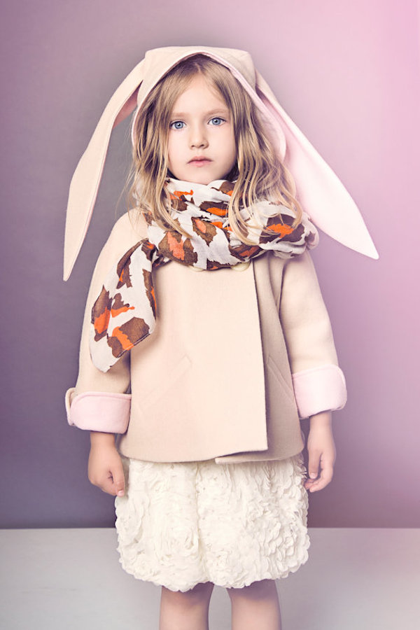 Luxe Bunny Coat by littlegoodall