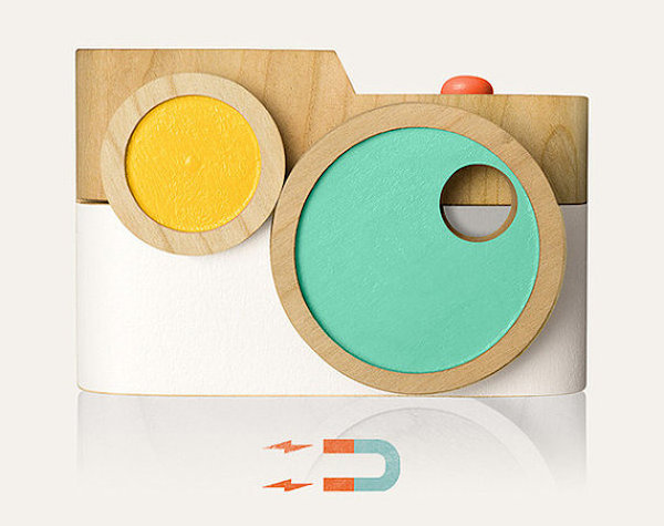 Puzzle Pixie Wooden Toy Camera by TheTwigCo