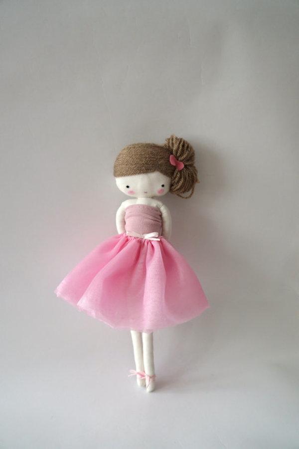 Ballerina Rag Doll by lassandaliasdeana