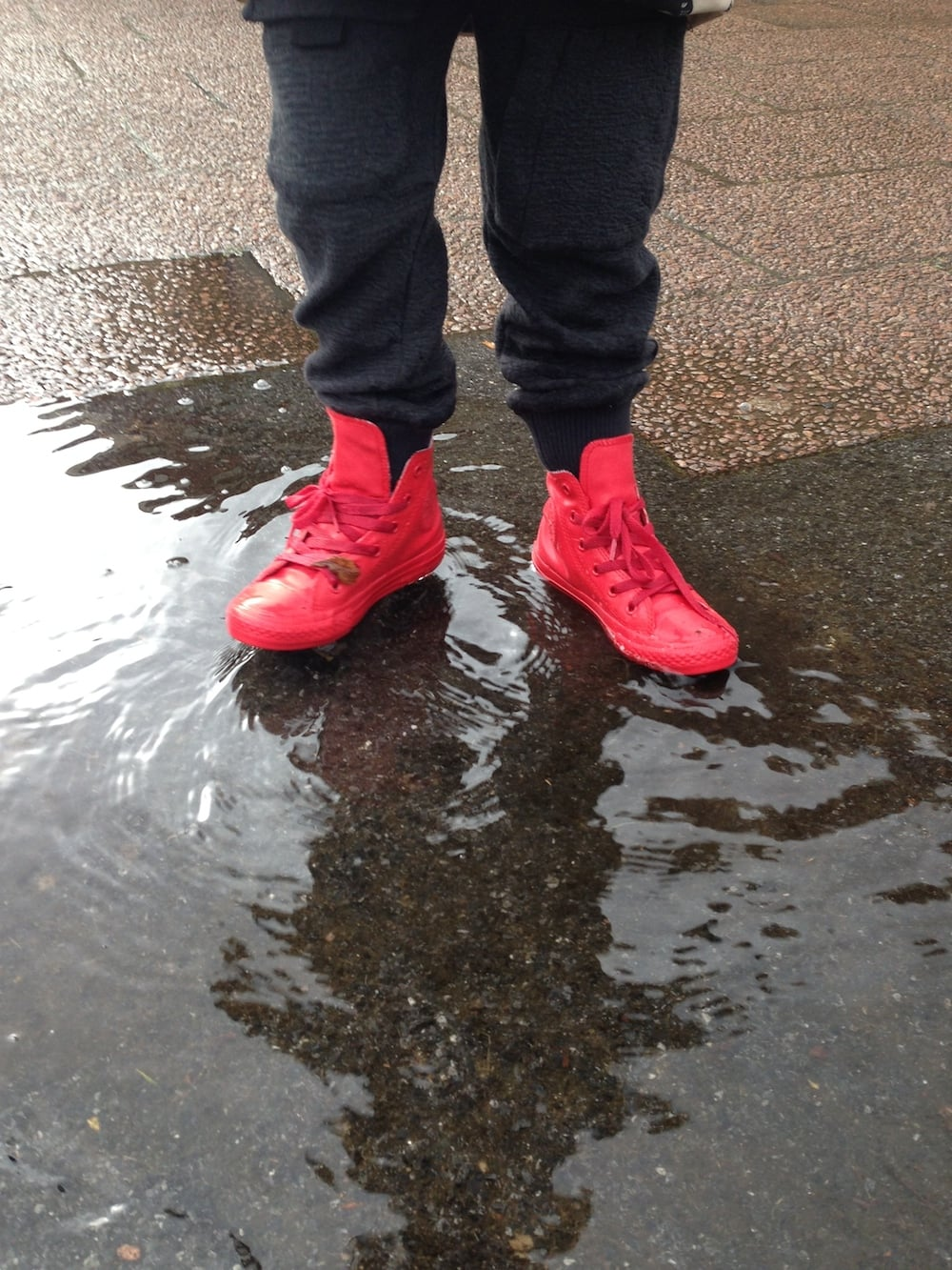 Mario's New Rain Boots