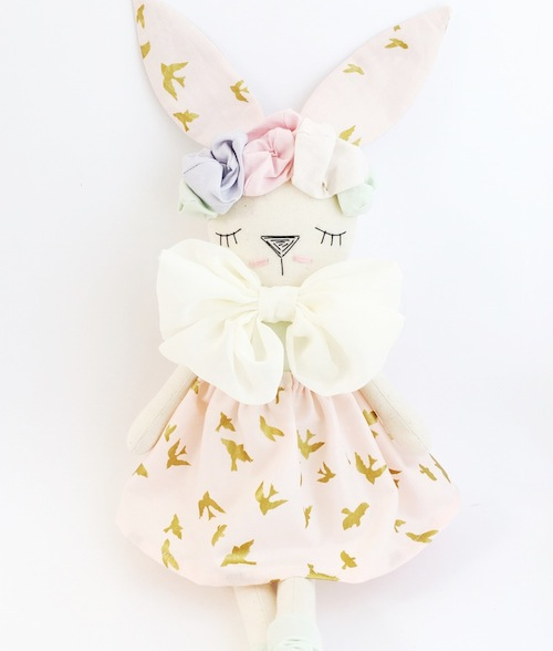Little Peach Handmade Custom Doll
