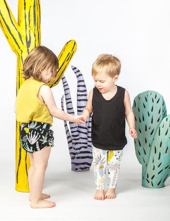 Thief and Bandit Kids Cactus Leggings