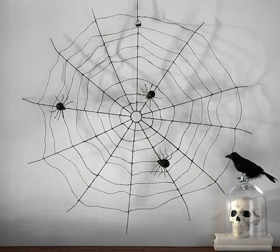 Pottery Barn Spider Web Wall Art
