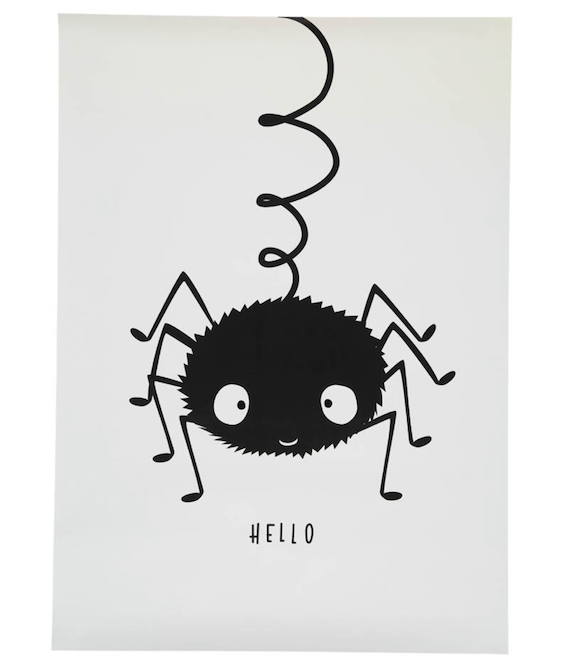A Little Lovely Company Spider Poster