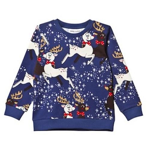 December 1st - Mini Rodini Reindeer Sweatshirt