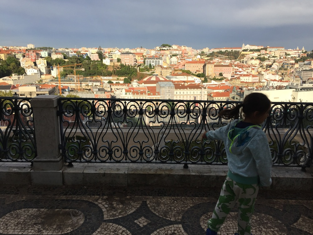Mario Takes a Stroll Through Lisbon