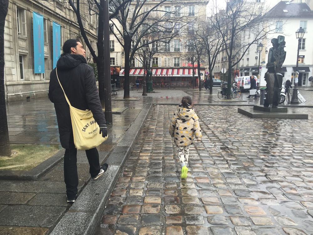 Mario & His Abuela in Paris