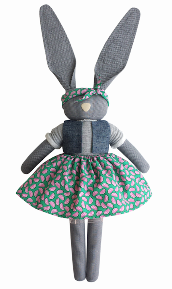 Navy Plum Rabbit