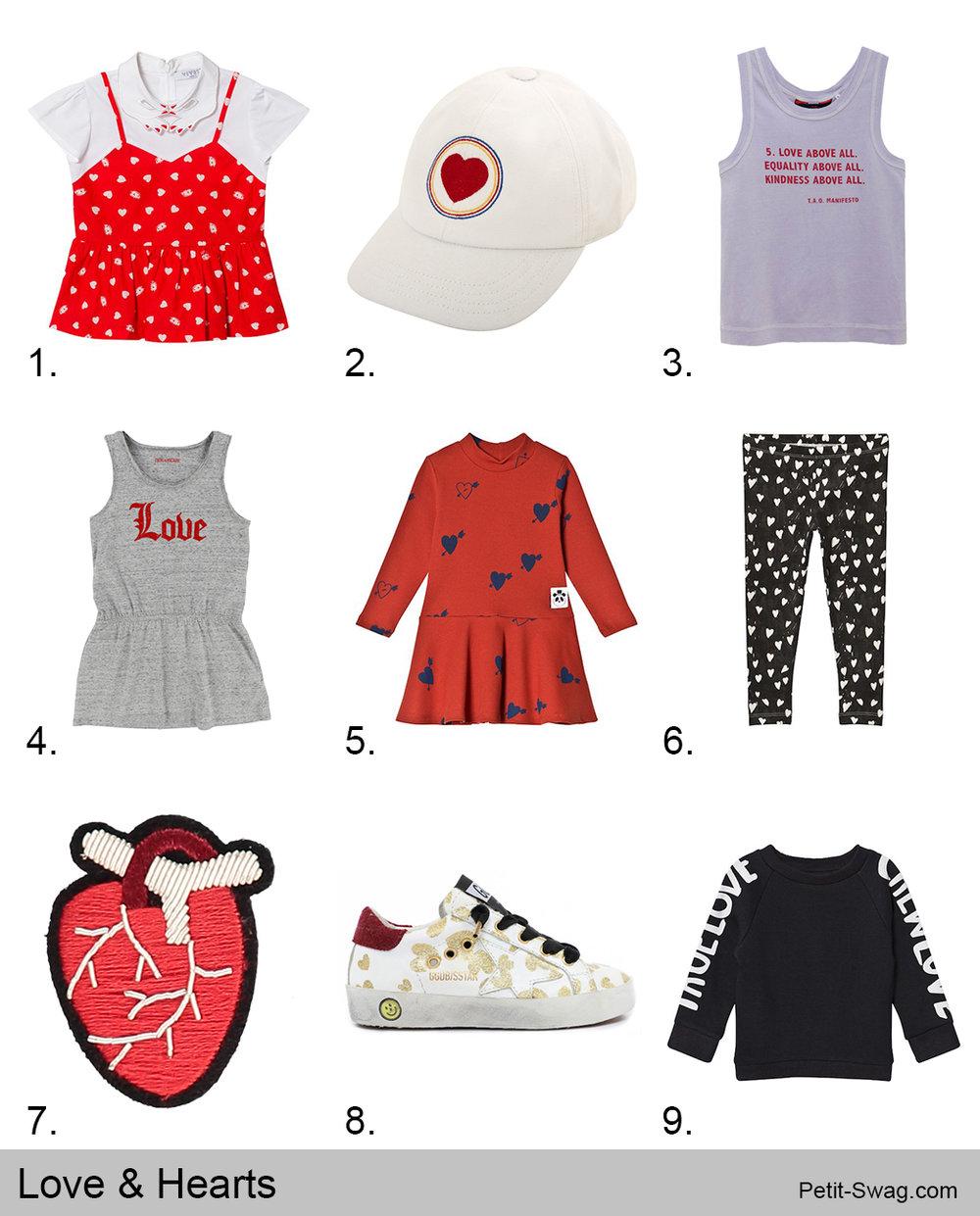 Love & Hearts | Petit-Swag.com