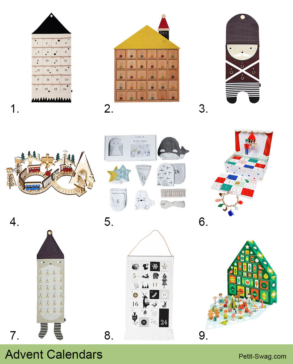 Advent Calendars | Petit-Swag.com