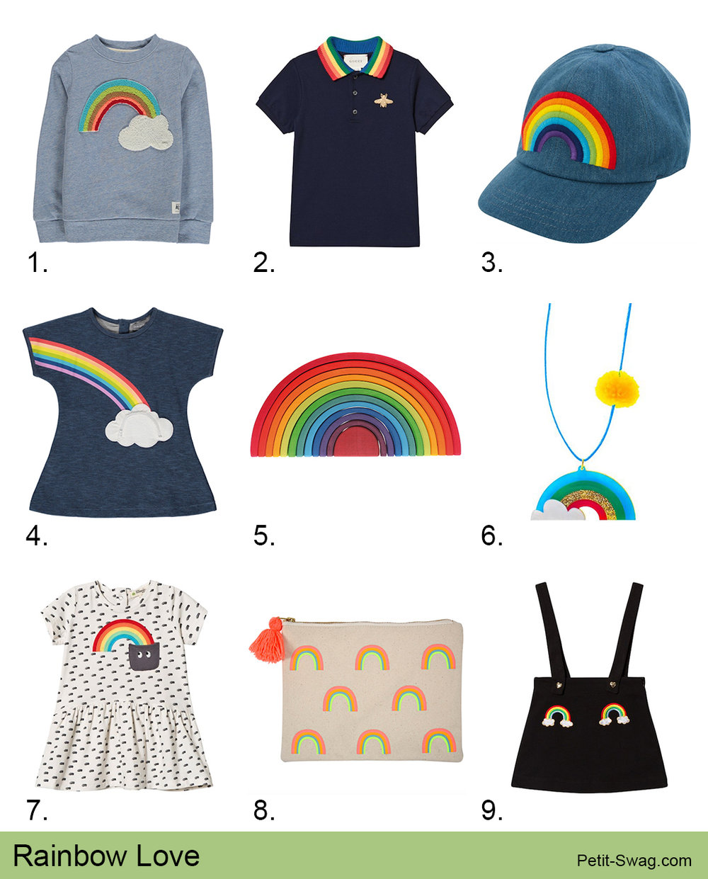 Rainbow Love | Petit-Swag.com