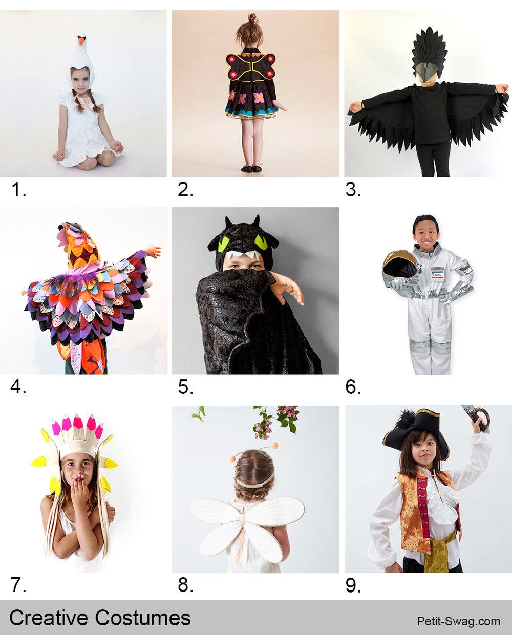 Creative Costumes | Petit-Swag.com