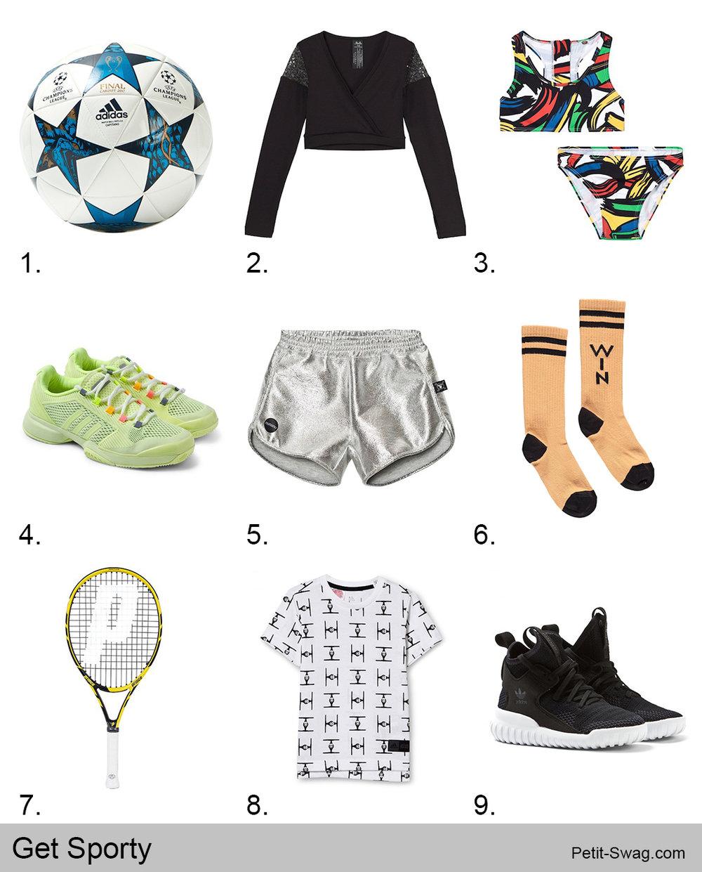 Get Sporty | Petit-Swag.com