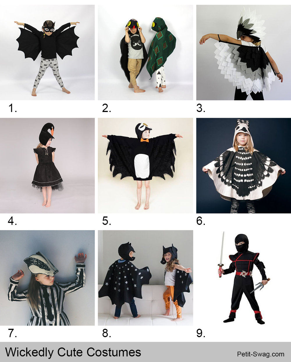 Wickedly Cute Costumes | Petit-Swag.com