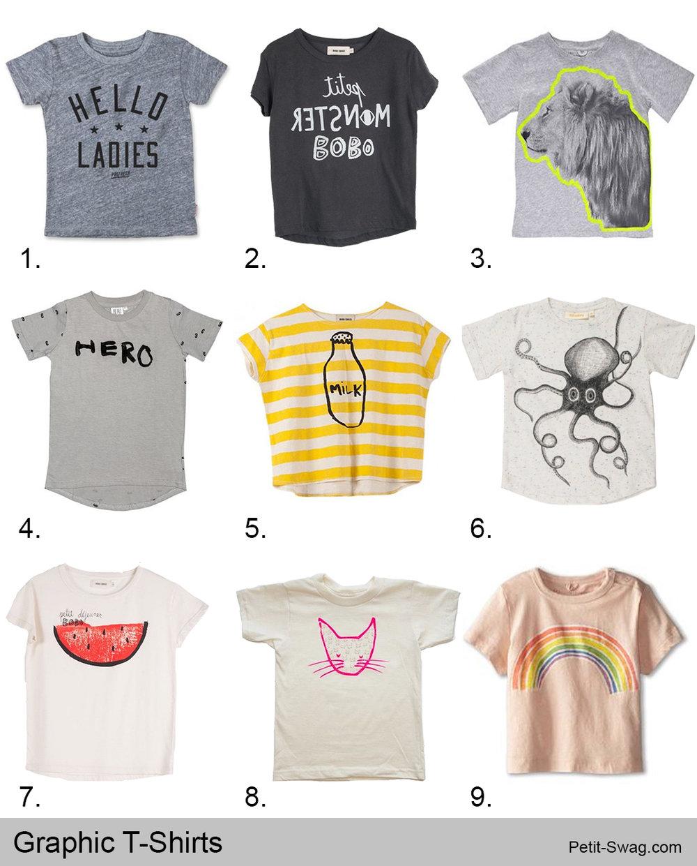 Graphic T-Shirts | Petit-Swag.com