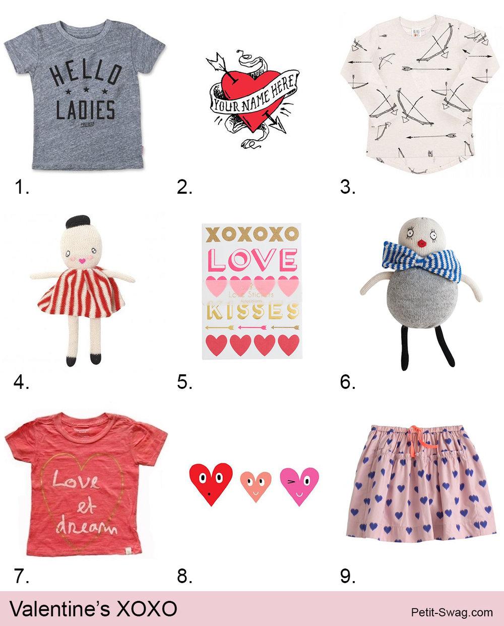 Valentine's XOXO | Petit-Swag.com