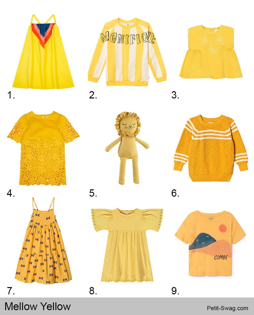 Mellow Yellow | Petit-Swag.com