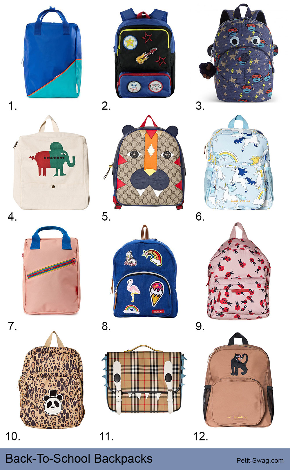 Back-To-School Backpacks | petit-swag.com