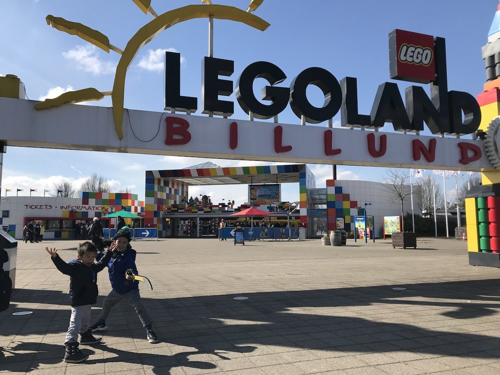 Mario's Spring Break @ the Original Legoland