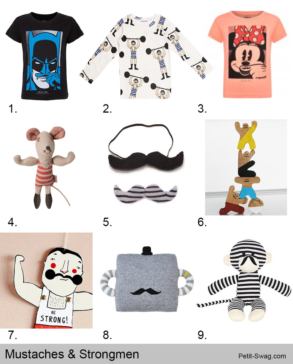 Mustaches & Strong Men   Petit-Swag.com