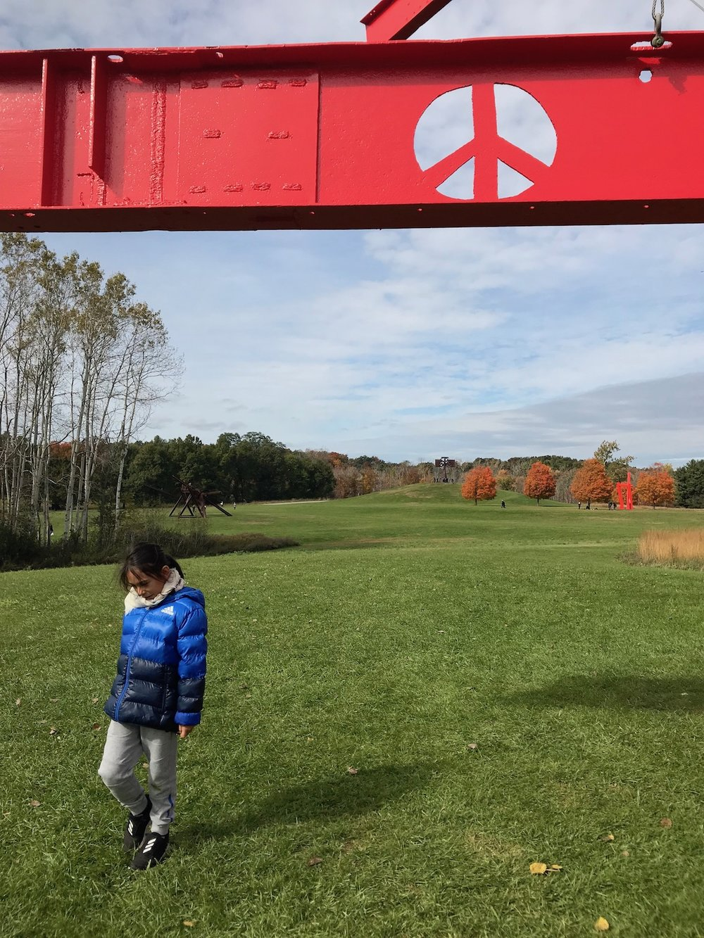 Mario at Storm King Art Center | petit-swag.com