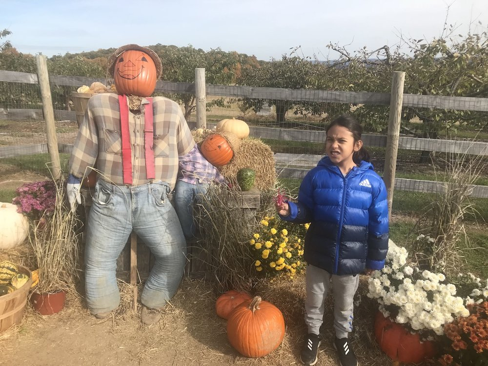 Mario at the Pumpkin Patch | petit-swag.com