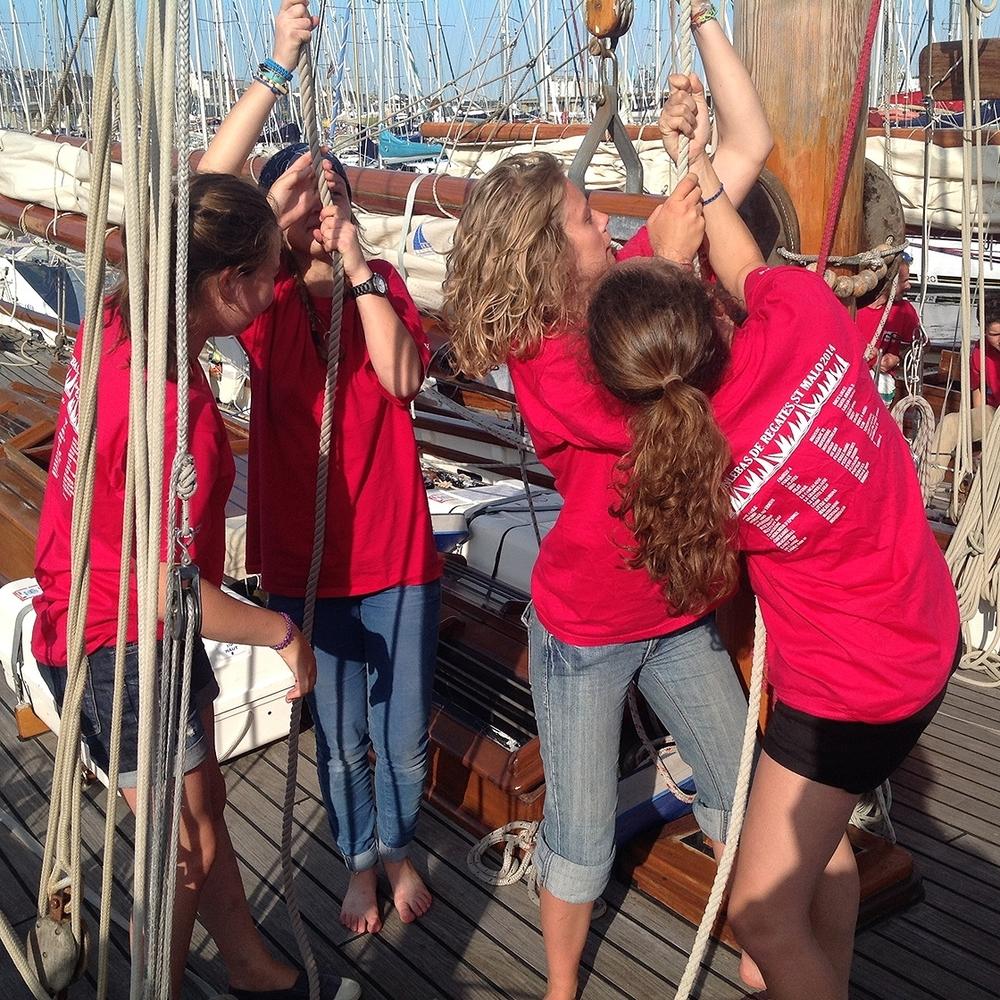 European sailing for teens