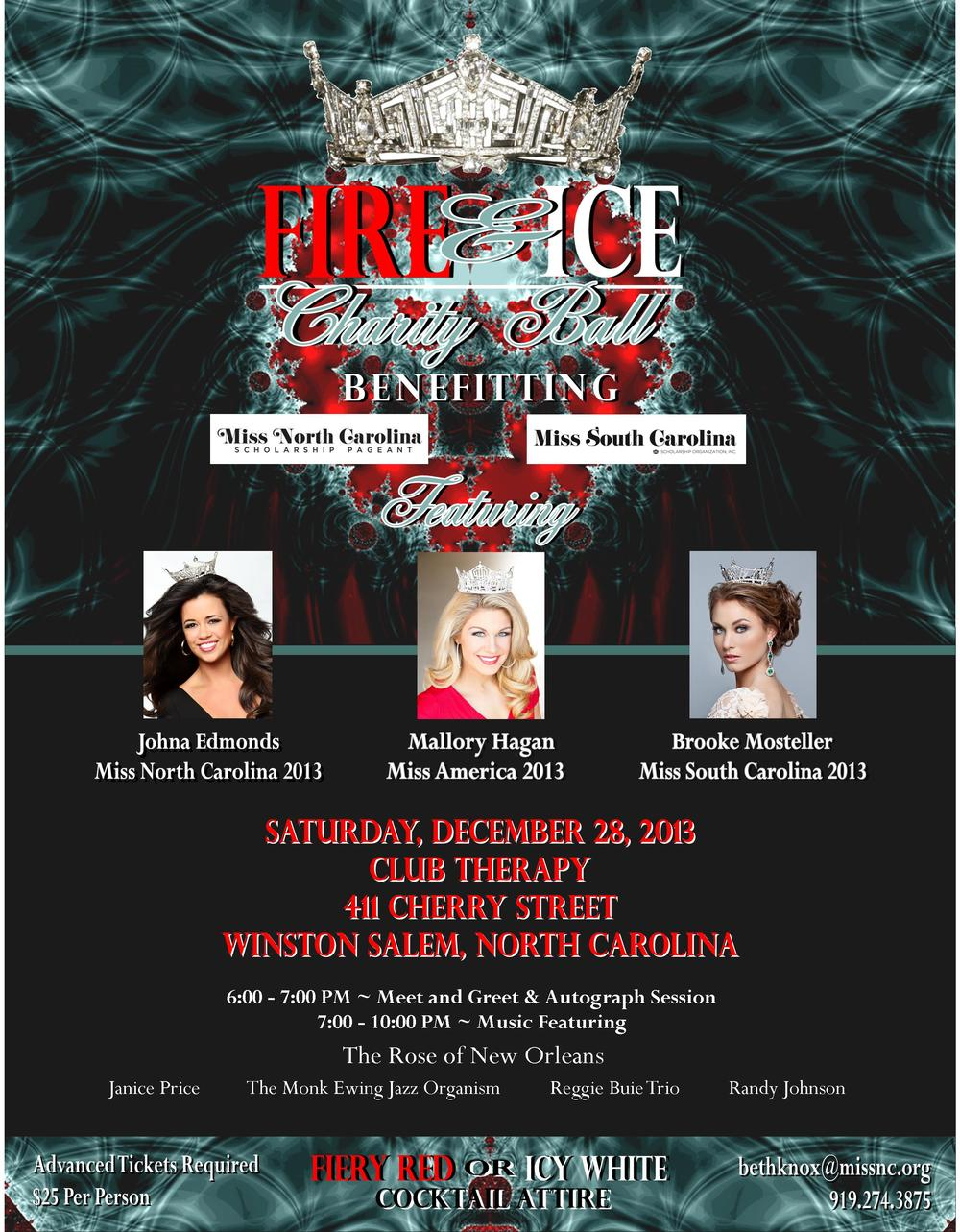 FLYER / Fire & Ice Charity Ball