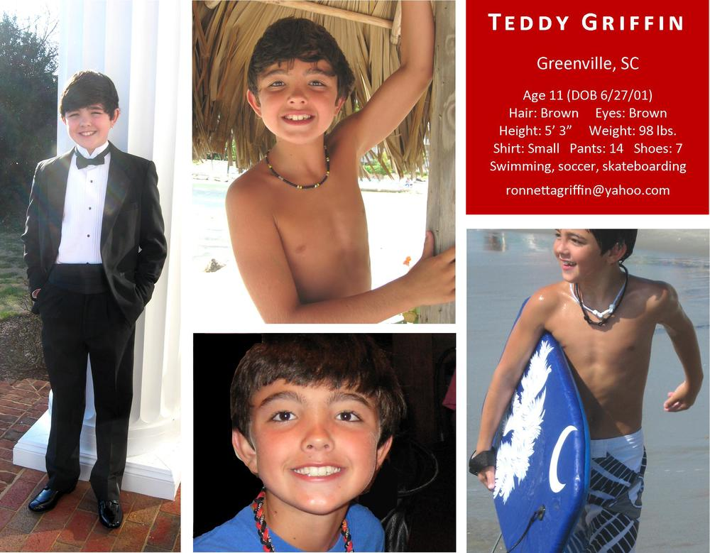 COMP CARD / Teddy