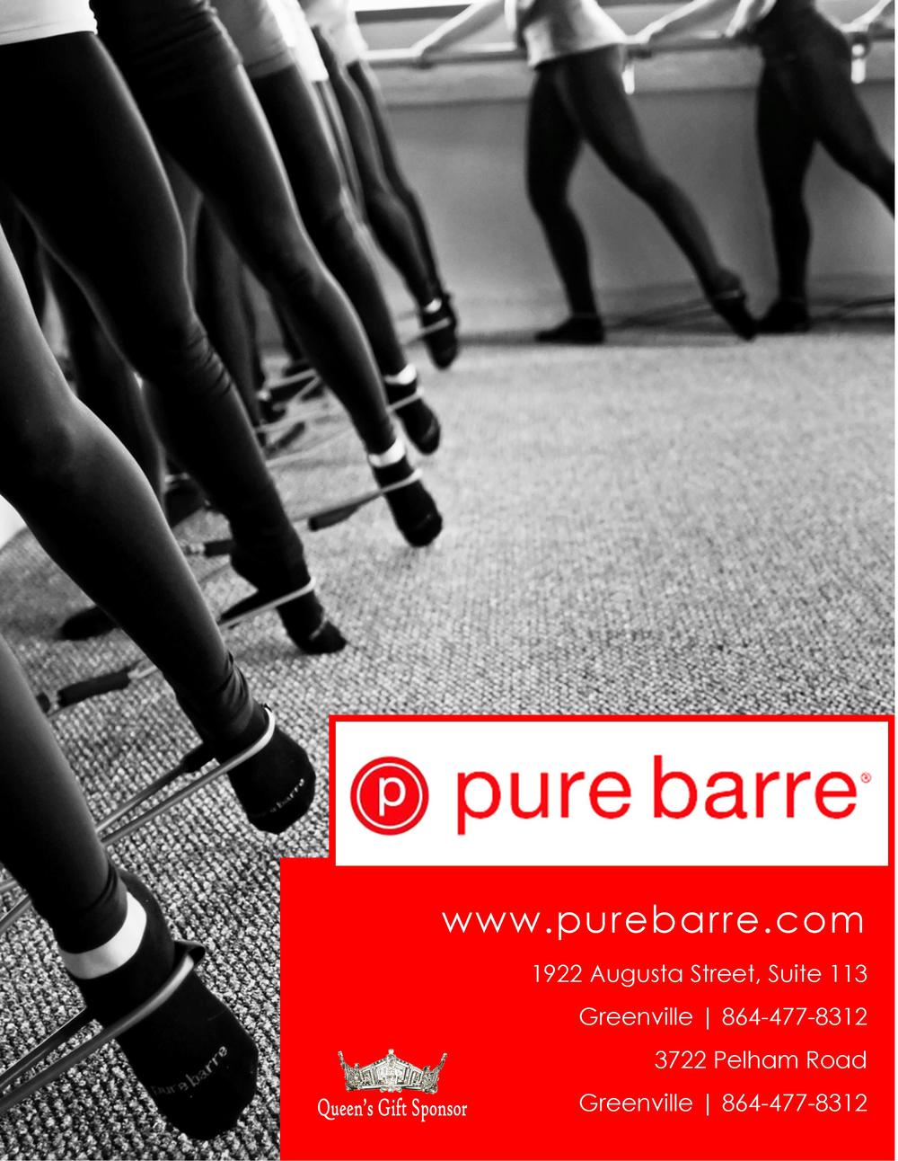 AD / Pure Barre Greenville