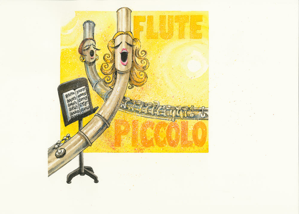 Artwork, 'Flute, Piccolo', Christine Tell 20150422.JPG