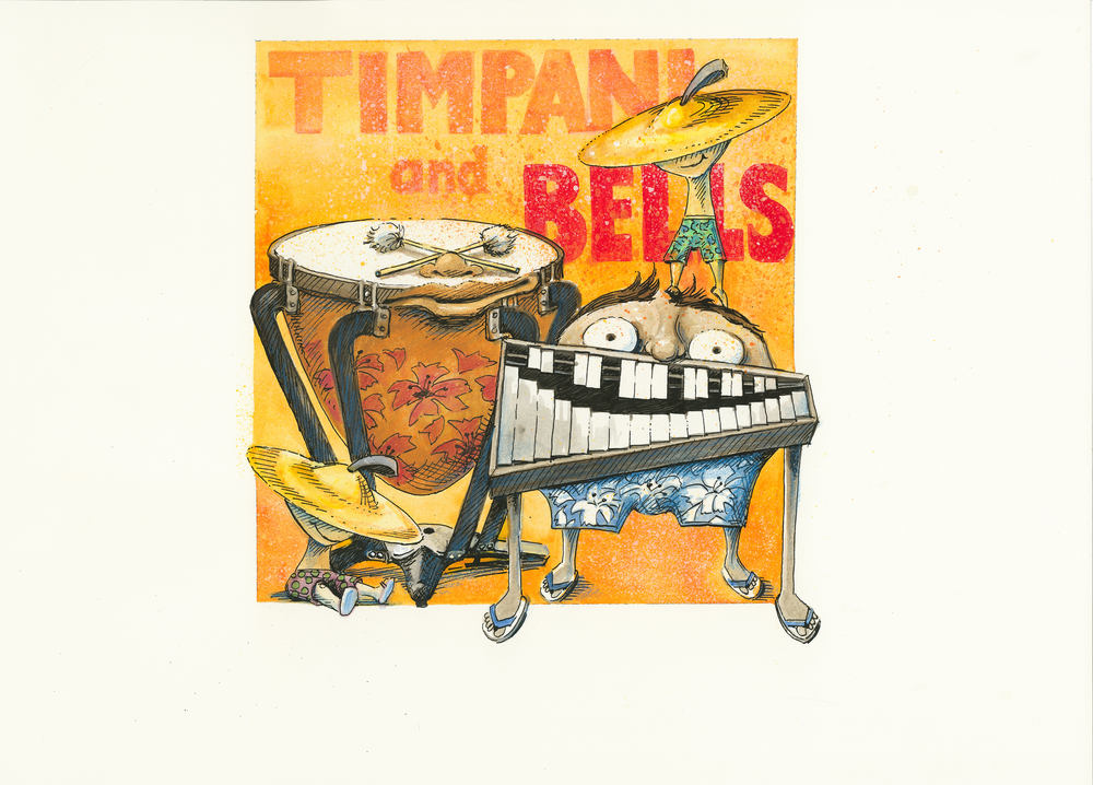 Artwork, 'Timpani and Bells', Christine Tell 20150422.JPG