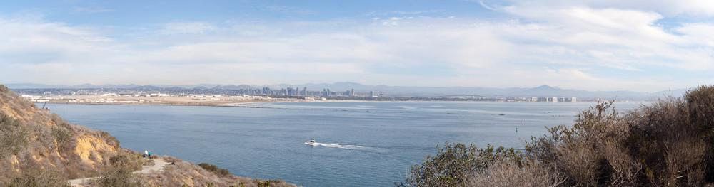 San Diego and Coronado from Cabrillo Monument