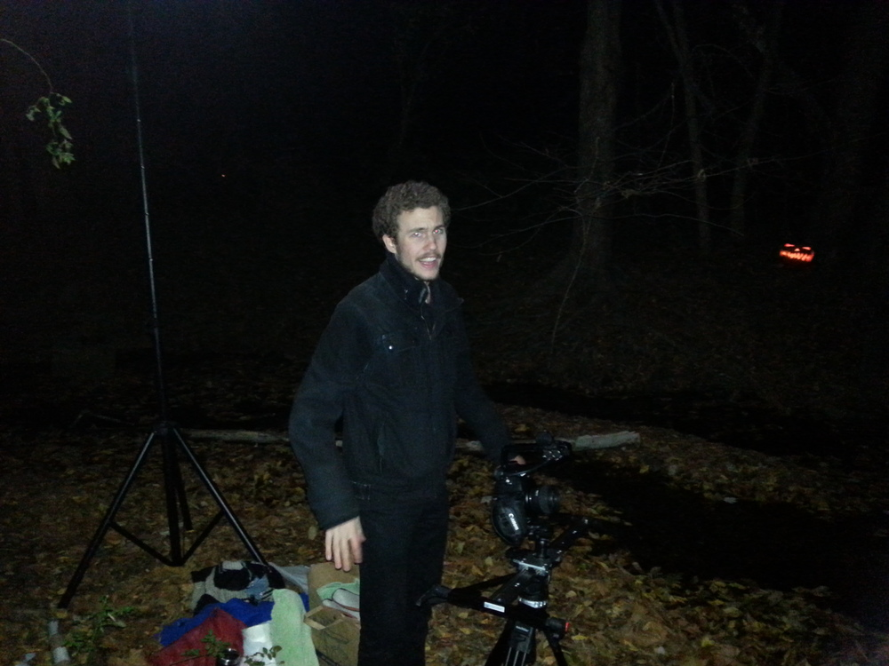 That fateful night of filming at the creek