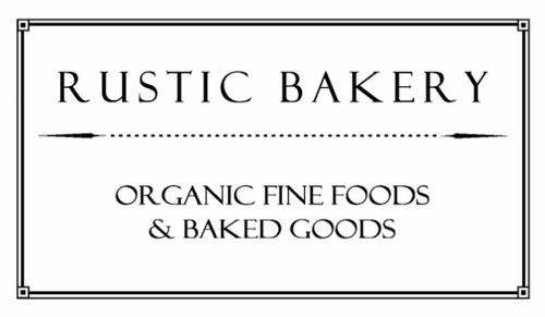 Rustic Bakery Philosophy Foods