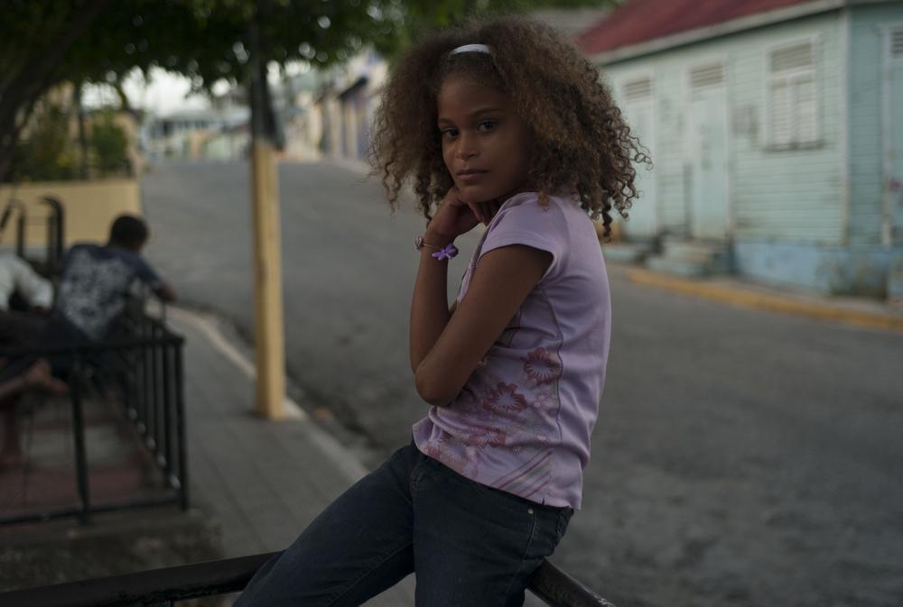 Striking a pose, Paraiso, Dominican Republic.