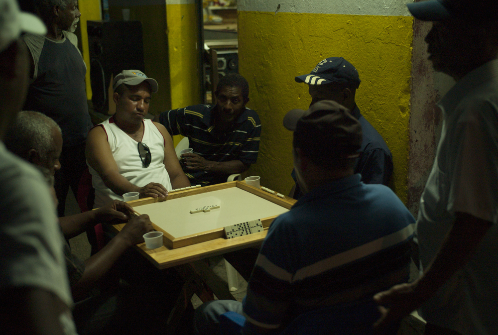 Dominoes,  Paraiso, Dominican Republic.