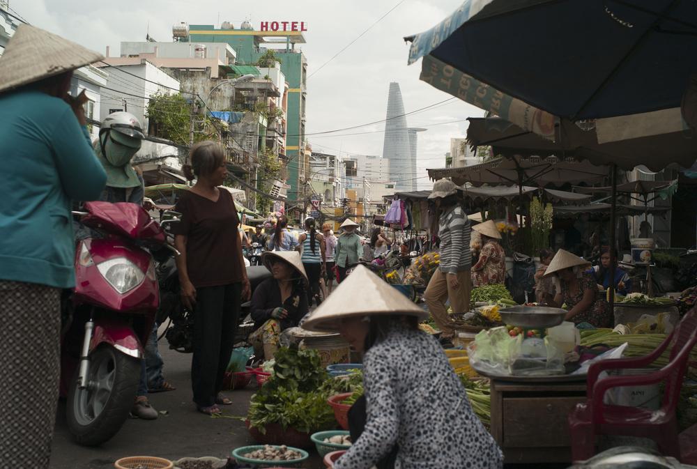 Market, Ho Chi Minh, Vietnam.