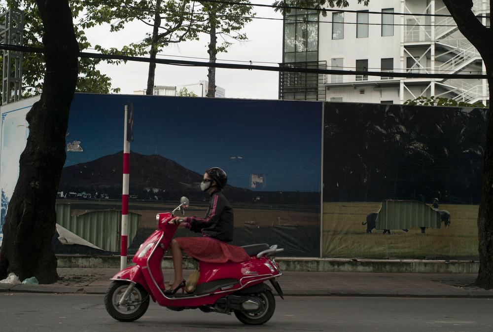 Scooter, Ho Chi Minh, Vietnam.