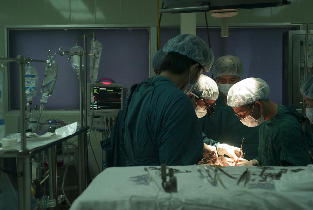 Surgery, Ho Chi Minh, Vietnam.